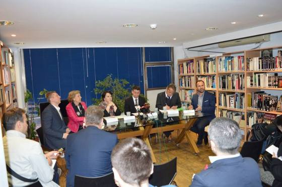 press conference macedonia