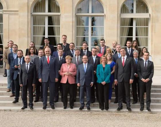 RYCO photo de groupe Elysee